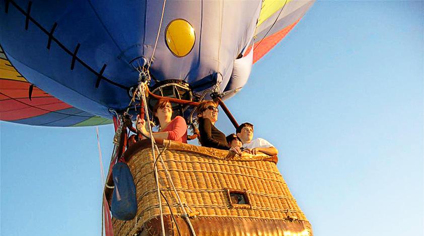 Fortune Hotels Dubai Hot Air Balloon Ride